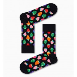 strawberry socks negre