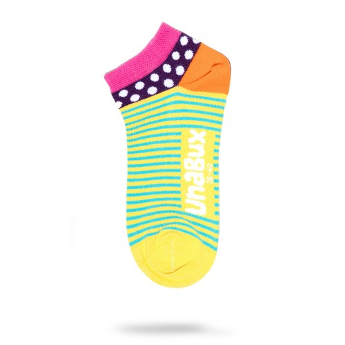 2-pack lightstripe low socks